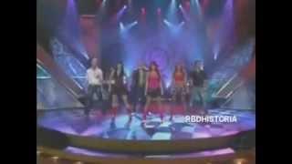 2007 rbd en sabado gigante en una entrevista cantan besame sin miedo celestial