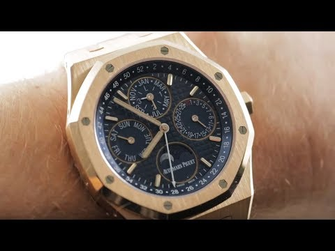 Audemars Piguet Royal Oak Perpetual Calendar 26574OR.OO.1220OR.02 Luxury Watch Review