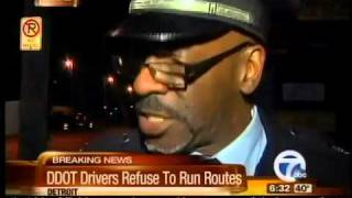 DDOT bus drivers refuse to run routes