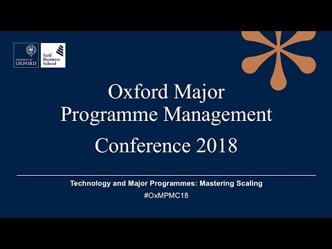 Oxford Major Programme Management Conference 2018