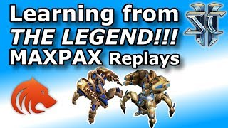 StarCraft 2: The MaxPax Special - Checking Out His Replays!