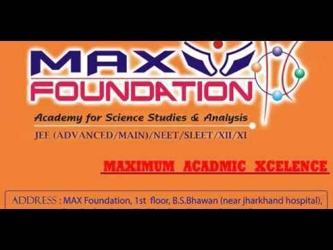MAX FOUNDATION CLASSES RANCHI /Hybridization / Saif Aamir , Chemistry ( M.Sc.  , B.Ed.) .