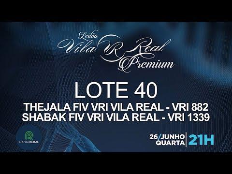 LOTE 40 (VRI 882/VRI 1339)