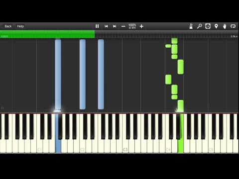 Adam Levine - Lost Stars Synthesia Tutorial