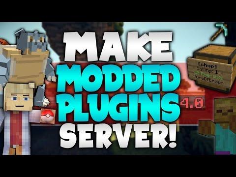 How To Mod A Bukkit Server - Minecraft flans mod server 1 8 erstellen