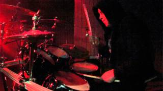 Mortis Inanis - ZODIAC Drum cam - live Complex 7/14/2015