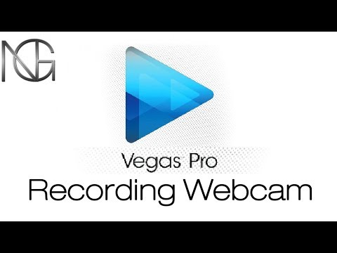 Sony Vegas recording webcam video and audio