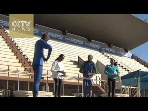 Namibia marathon runner prepares for Rio