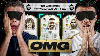 FIFA 21: OMG.. BLIND ICON PICK Squad Builder Battle & 10 JAHRE FGU 😱🎉😳