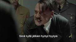 Hitler kuulee että vessapaperi on loppunut kaupoista