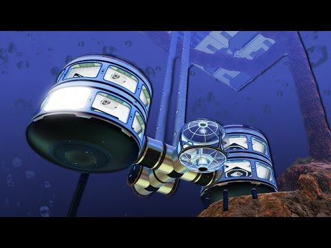 Underwater Apartments!  Subnautica #17
