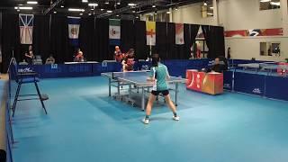 2019 CWG - Table Tennis - Women's/Men's Team Semi-Finals  - Table 3