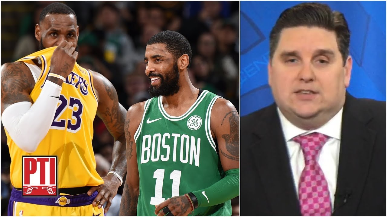 half off 628c3 69201 Kyrie Irving is now more open to playing with LeBron - Brian Windhorst    Pardon the Interruption