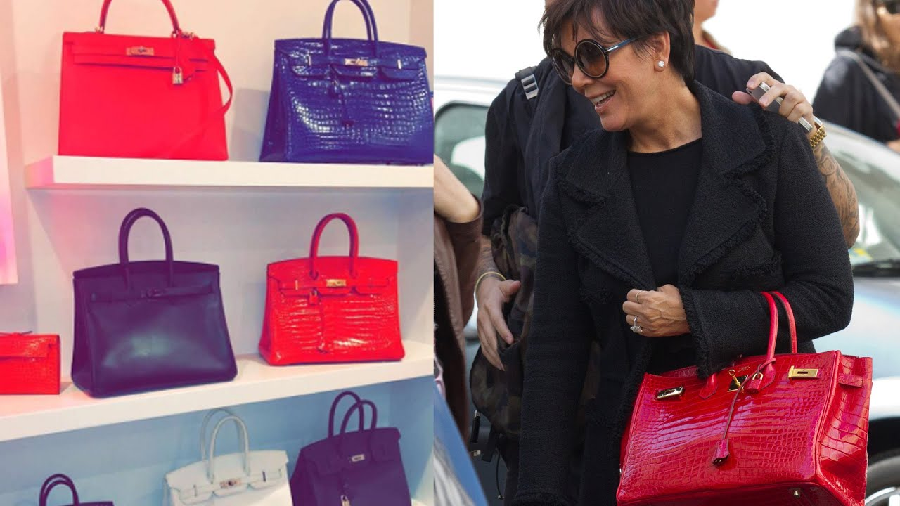 Kylie Jenner Shows Off Mom Kris Jenner s Birkin Bag Collection - YouTube 01a0f38053