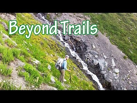Off-Trail Mountain Camping and Lake Hike (Olympic National Park)