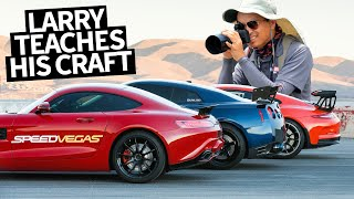 Car Photography Session With Larry Chen at Speed Vegas!