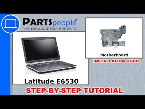 Dell Latitude E6530 (P19F001) Motherboard How-To Video Tutorial