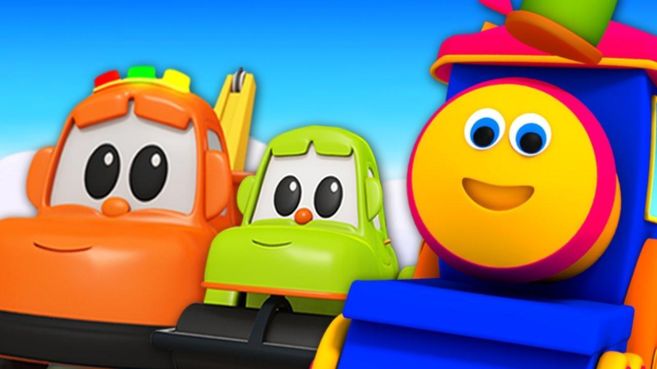 صورة فيديو : بوب سيارة التعلم الشارع | أغاني أطفال | Bob Fun Series | Learning Colors With Street Vehicles