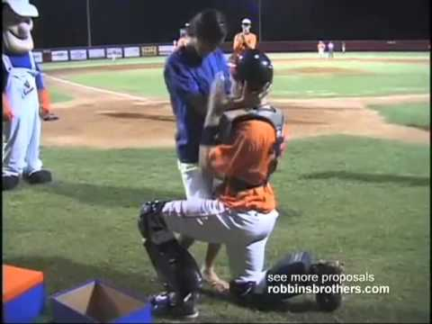 Robbins Brothers Baseball Marriage Proposal Tv Commercial Youtube