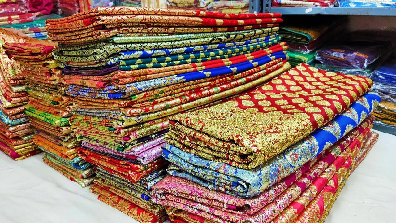 बनारसी साड़ी मात्रा 350₹ में  सीधा बनारस के मैन्युफैक्चरर्स, Banarasi saree manufacturer Banaras