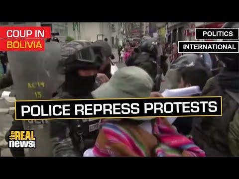Bolivian Police Are Still Repressing Anti-Coup Protests