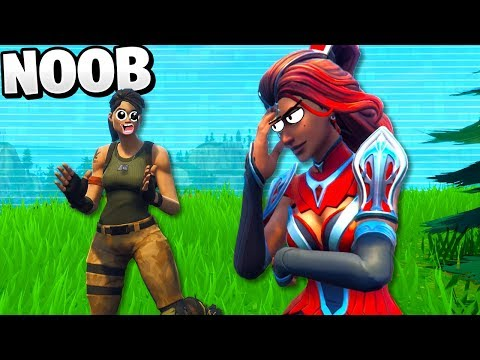 I Teamed With A NOOB In Solo Fortnite!!