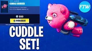 Fortnite Item Shop *NEW* CUDDLE TEAM LEADER SKINS SET!!! (Fortnite Battle Royale)