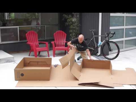BIKE SHIPPING BOX ASSEMBLY