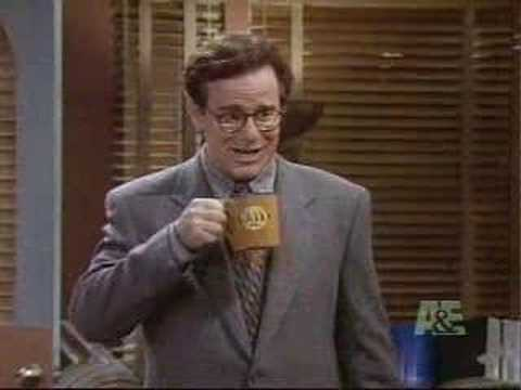A clip from Newsradio, one of the most underrated sitcoms of the 90s - Bill quits smoking