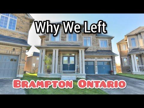 🏠Why we Left Brampton- Top 5 Reasons 🌏