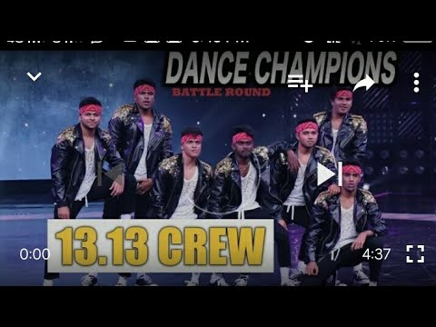 a385b9ec582f Dance Champions 13.13 Crew Dance Video On Boss Song Dance Video