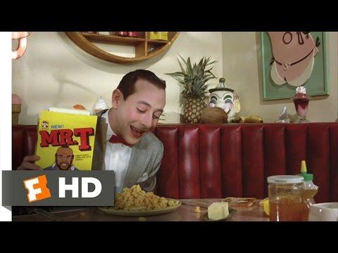 Pee-wee's Big Adventure (1/10) Movie CLIP - Pee-wee's Breakfast (1985) HD