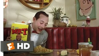 Pee-wee's Big Adventure (1/10) Movie CLIP - Pee-wee's Breakfast (1985) HD
