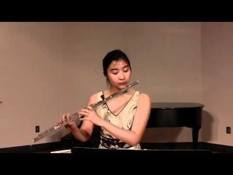Jennifer Zhou YTSO 2011 Flute & Piccolo Audition.mov