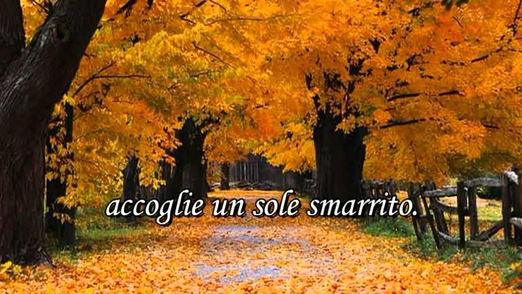 Four Seasons Rv >> Vincenzo Cardarelli: «Autunno» - YouTube