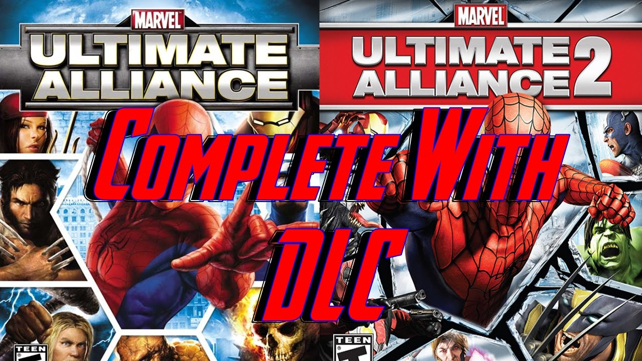 Marvel Ultimate Alliance 1 & 2 Re-listed and Includes De-Listed DLC
