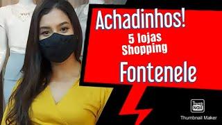 Achadinhos ! 5 lojas do Primeiro Piso Shopping Fontenele | Roupas no Atacado