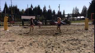 Cherie Blossom Highlights vs  Cyrene and Deahna final