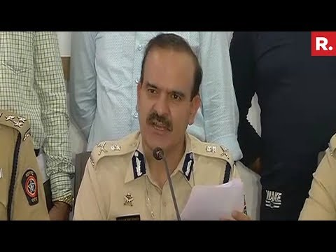 Police Briefing After Arrest Of Dawood Ibrahim's Younger Bro