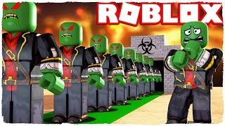 I HAVE A CLONE MACHINE! THE ZOMBIEFactory IN ROBLOX!