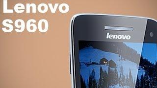 Lenovo S960 Vibe X - видео обзор 5 дюймового телефона(Представляем вашему вниманию на русском языке видео обзор на самый тонкий сенсорный телефон Lenovo S960 Vibe X...., 2014-02-01T18:01:28.000Z)