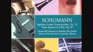 Schumann: Fantasiestücke Op. 73:  II. Lebhaft, Leicht - Martin Fröst