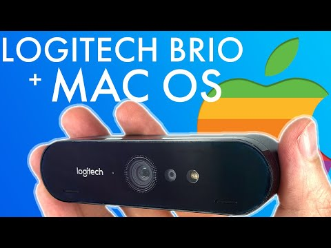 How To: Use The Logitech Brio 4K Webcam With Apple Mac OS