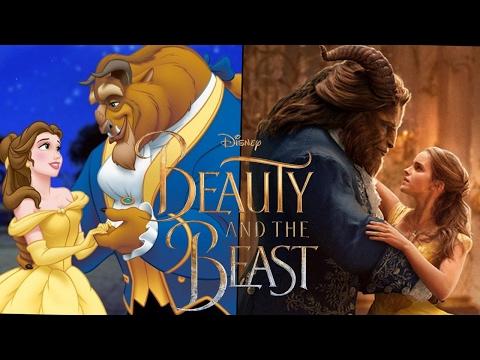 La Bella y La Bestia Trailer #2 - 1991 vs 2017