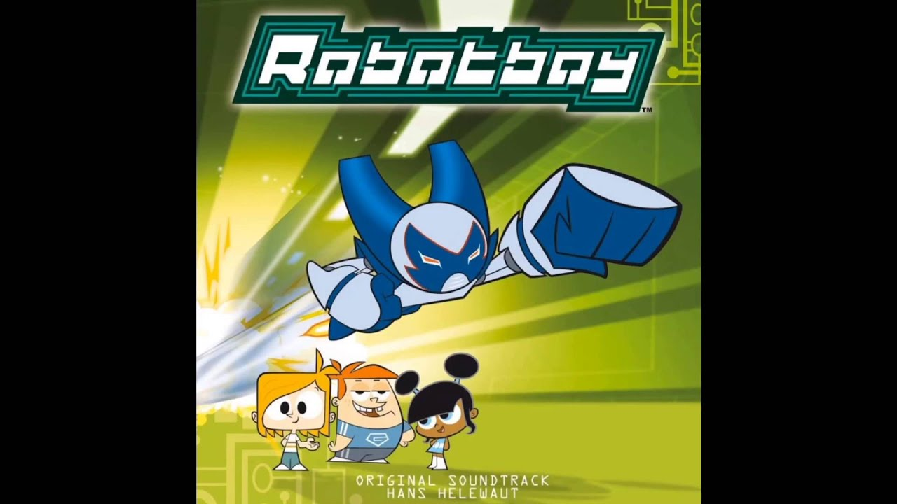 robotboy original soundtrack with instrumental background music from the tv show plus bonus song