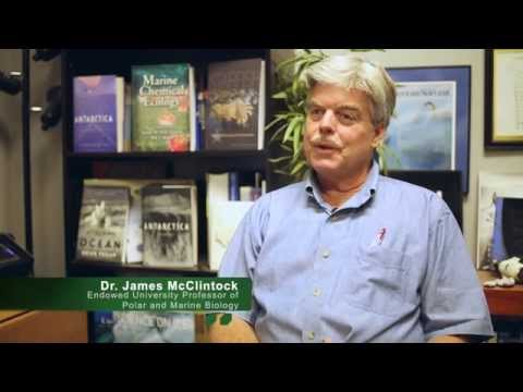 Anthropogenic Climate Change -  Dr. James McClintock   UAB 2015 Freshman Book Discussion