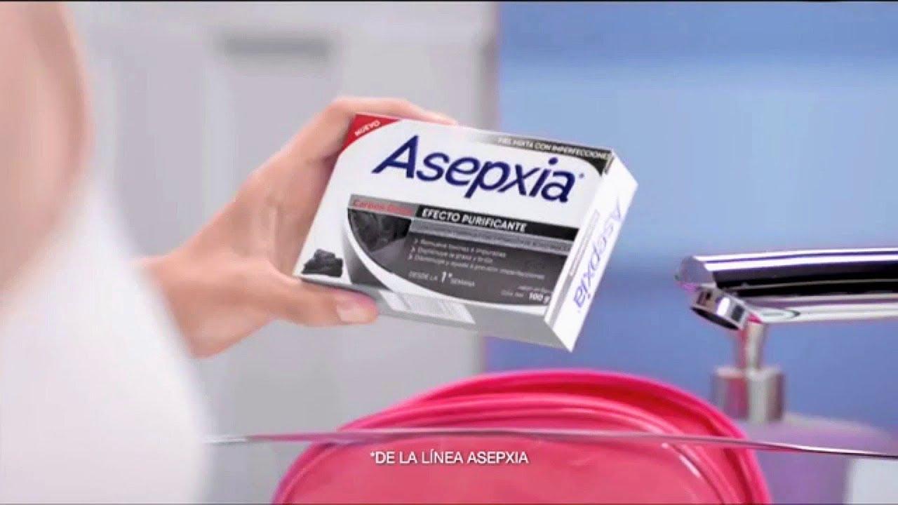 Cara asepxia como lavarse jabon la con