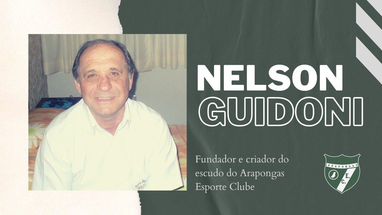 Nelson Guidoni conta como criou o escudo do Arapongas Esporte Clube