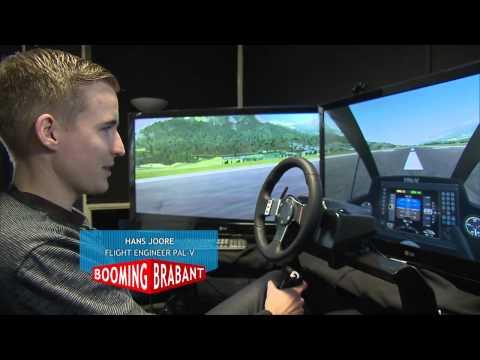 OP Zuid project PAL V vliegende auto uitzending Booming Brabant Aflevering 5