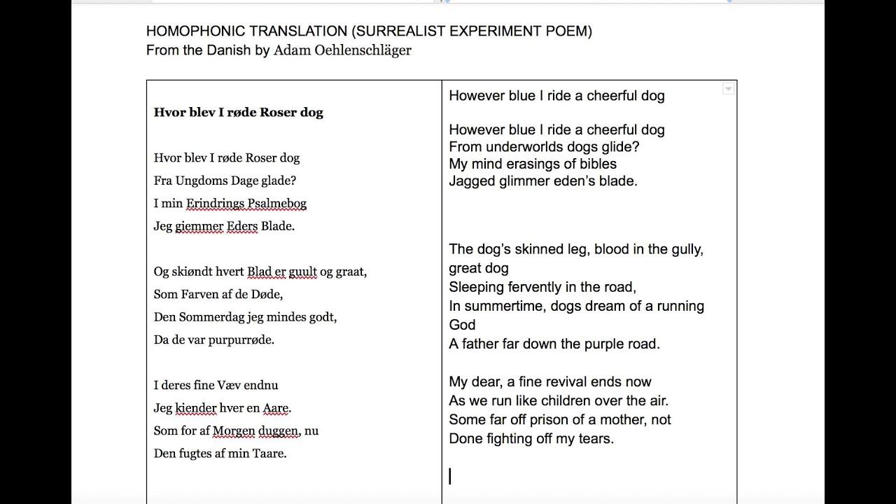 Homophonic Translation demo
